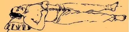 仙人揉腹法,终于有了图了!(躺在床上也能治病!)图2