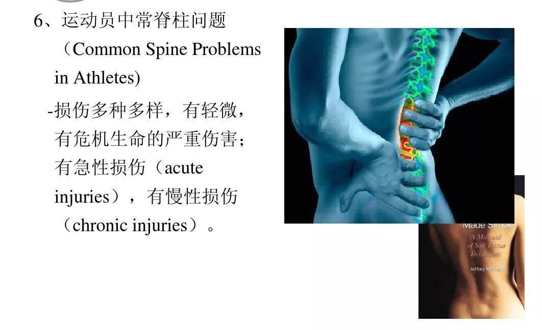 运动康复中的整脊手法