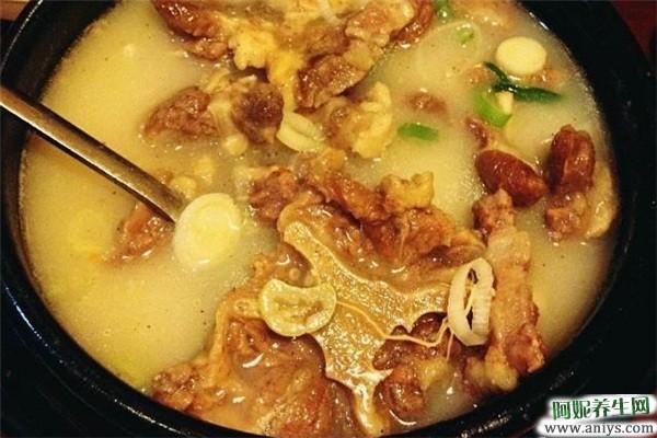 春季养生汤做法大全之牛尾汤