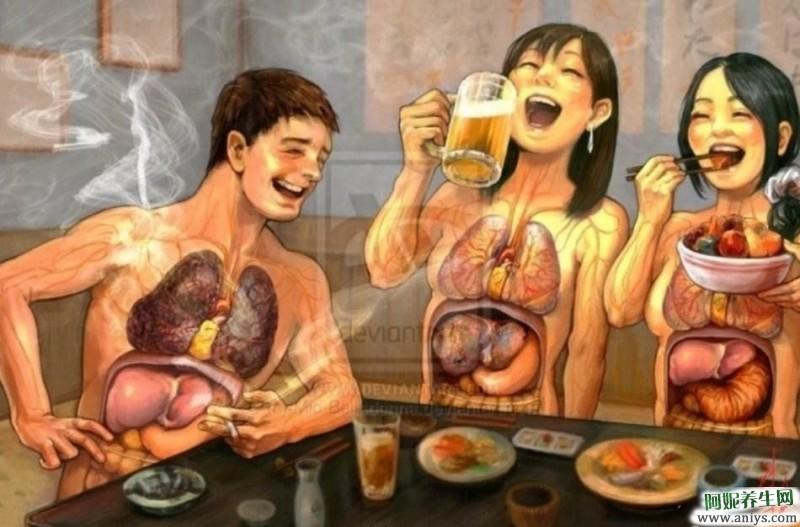 心、肝、脾、肺、肾五脏的保健养生,值得收藏图1