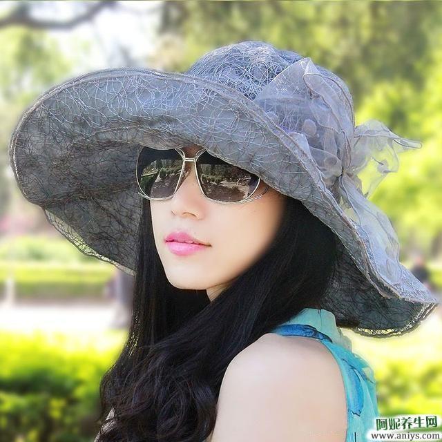 夏天戴什么的帽子可以防晒