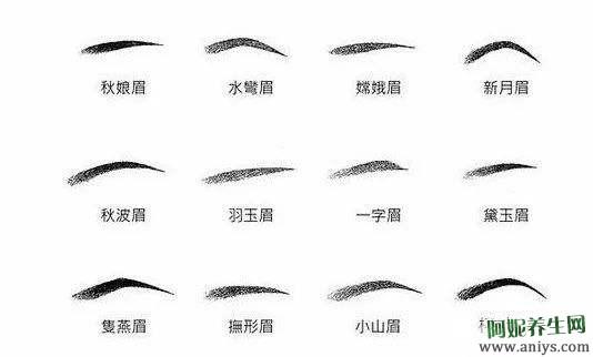什么是标准的眉形