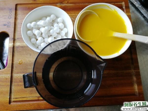 南瓜小圆子羹:它被称为维生素之王,常当早餐喝,快速长个子还护眼图3