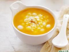南瓜小圆子羹:它被称为维生素之王,常当早餐喝,快速长个子还护眼图1